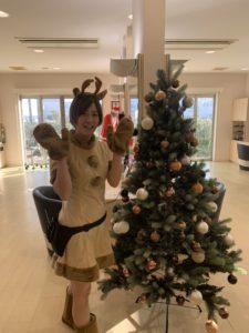 去年のクリスマス 嶋田トナカイ