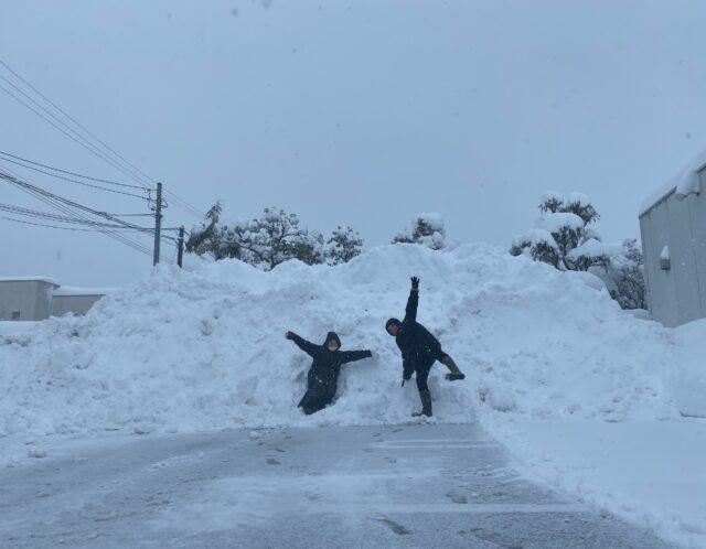 大雪でしたが…