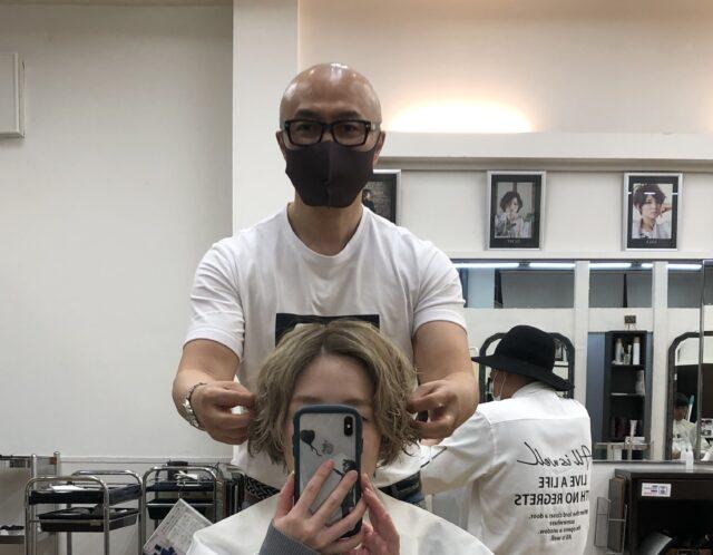 髪の毛メンテナンス