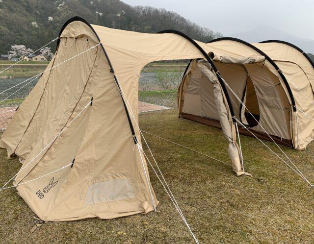 キャンプの季節がやってきました!