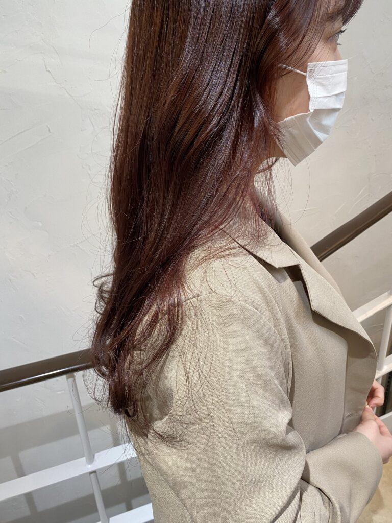 ピンクcolor韓国巻き☆