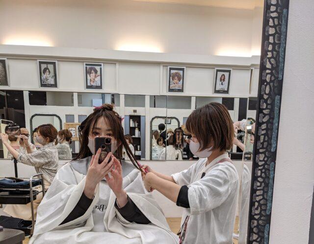 田中身奈、カットモデル募集中