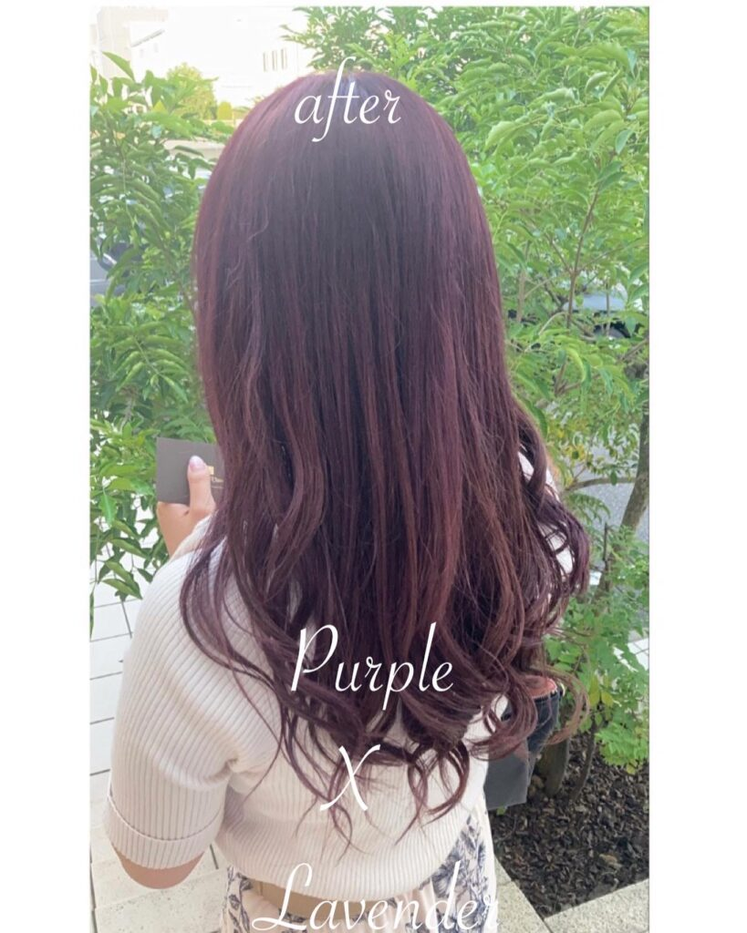 purple & lavender color