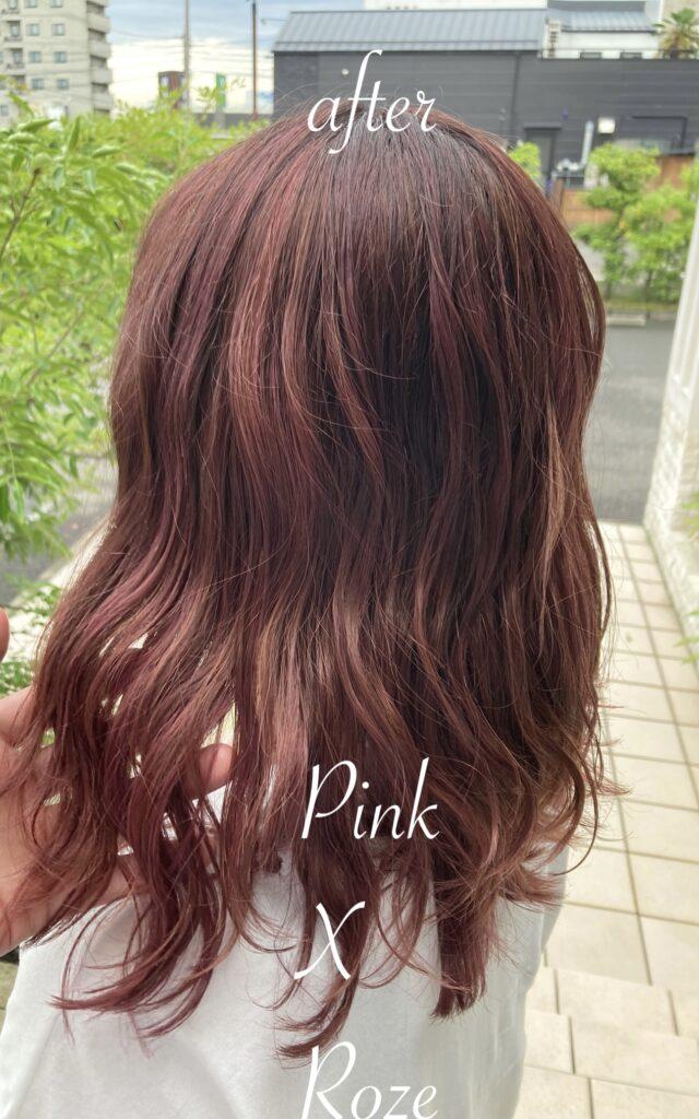 pink & Rose color
