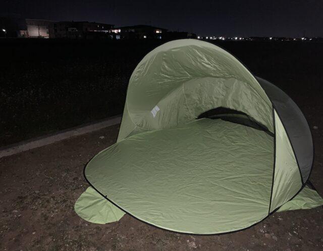 家キャンプ