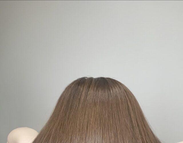 サラ艶な髪に